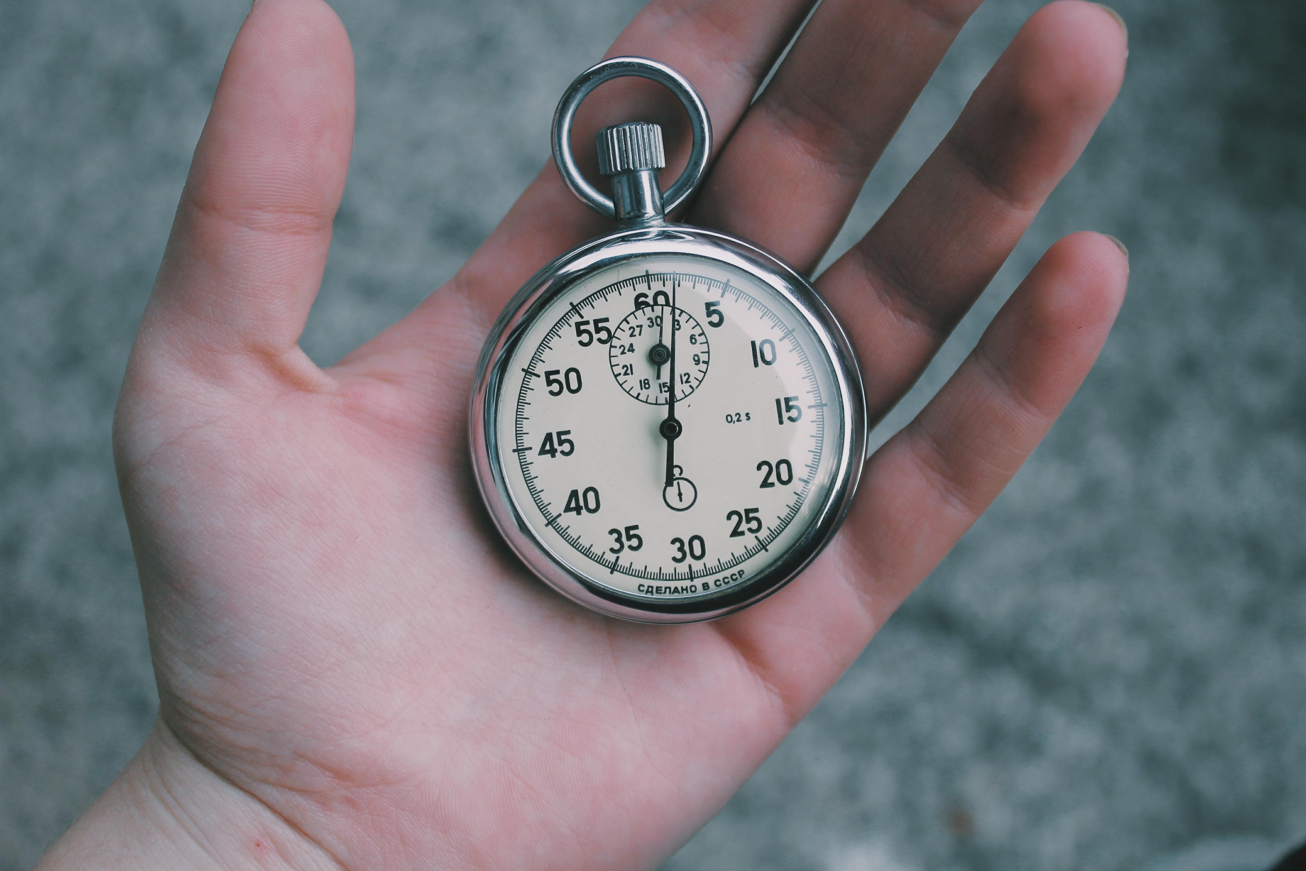 No dejes para mañana lo que puedas hacer hoy