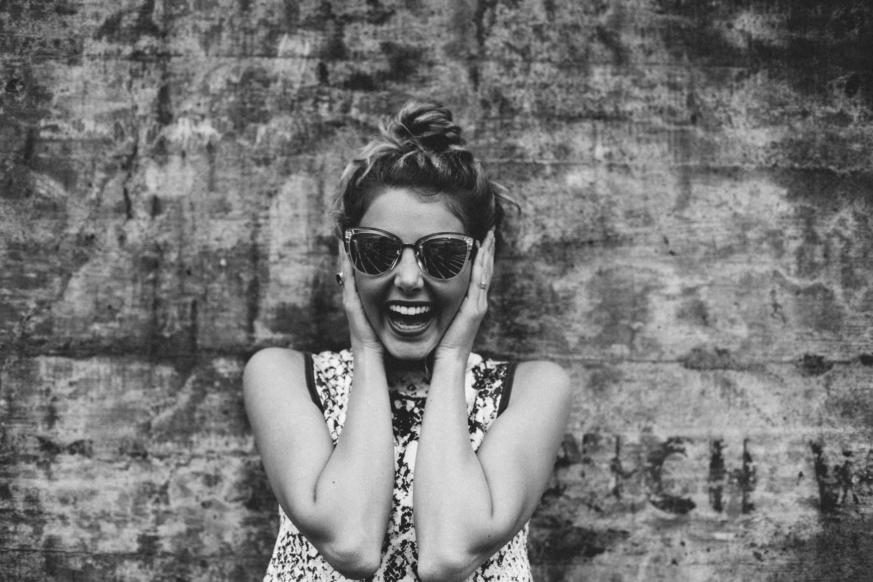 La vida es más bonita cuando la miras con una sonrisa